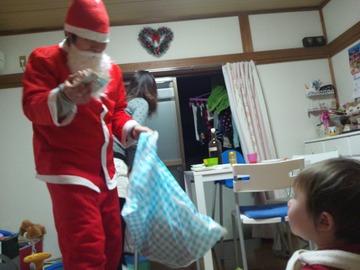 サンタさんがプレゼントを!