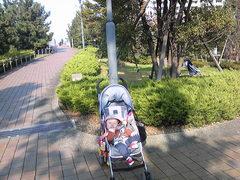 公園をブラリ散歩
