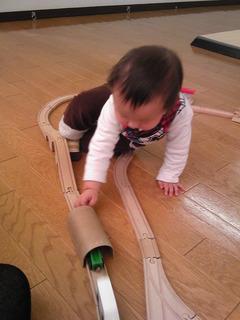 電車がお好き
