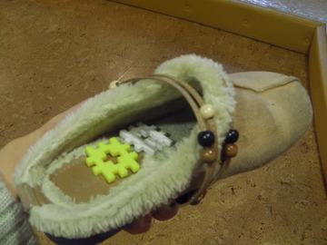 靴におみやげ?