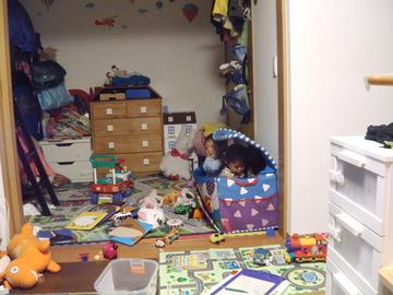 おもちゃ箱に入るために