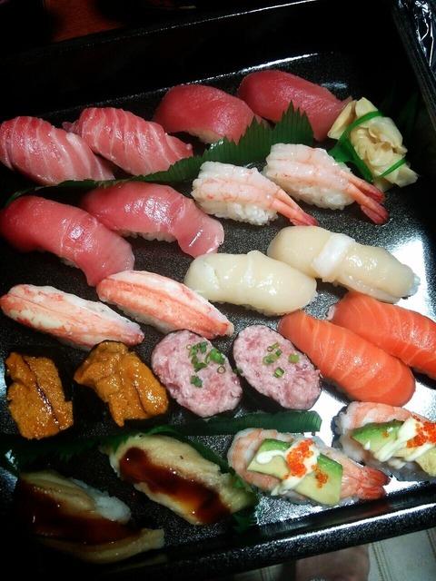 AV女優、川菜美鈴寿司食べた後ににセックス。