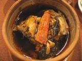 上海蟹の特製スープ