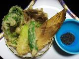春の山菜天ぷら