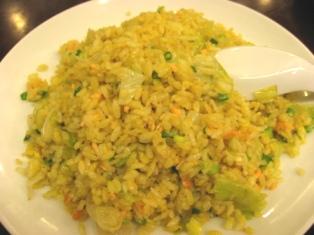 福満園「鮭魚炒飯」