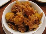 栗と鶏の炊き込みご飯