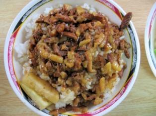 金峰の魯肉飯