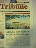 101007_02_Qatar Tribune_New Stadium in Lusail
