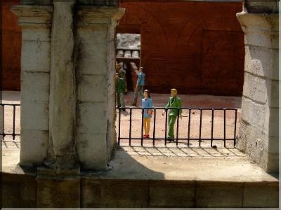 コロッセオの中