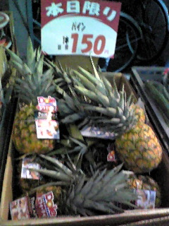 疑惑のパイナップルン(笑