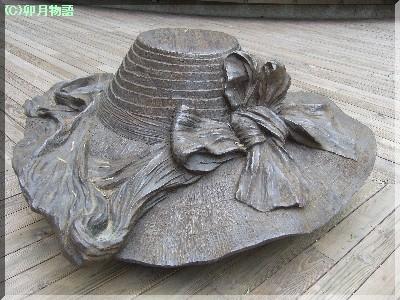 帽子ベンチ