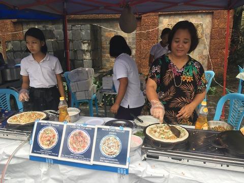ファーマーズマーケット_ミャンマー食