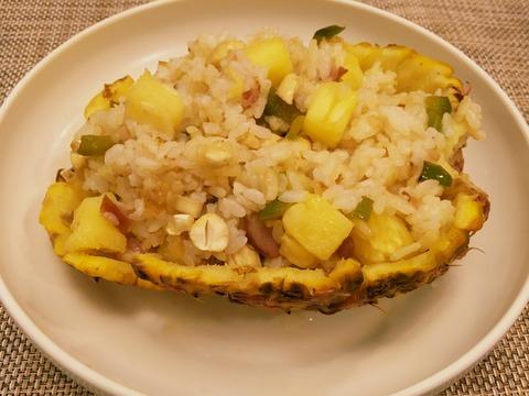パイナップル炒飯