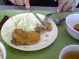 鶏肉のあら塩焼き