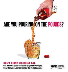 Dob't Drink Soda Campaign