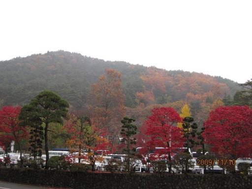 花巻温泉の紅葉