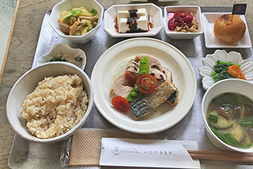 菜チュレの日替わり定食
