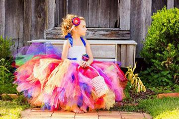 カラフルがとっても可愛いドレス