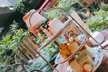 オシャレなアフタヌーンティーが楽しめるオフィシナ・デル・カフェ