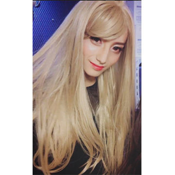 2017年ハロウィンコスプレ特集、女装コスプレ金髪ロングのいい女