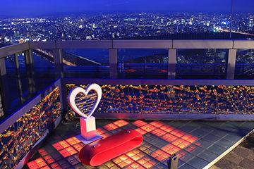 クリスマスデートで行きたい梅田スカイビルの空中庭園1