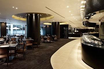景色が最高のリーガロイヤルホテルのビュッフェ