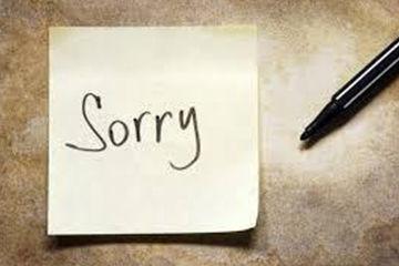 すぐに謝ることで仲直り