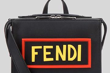 FENDIからもブランドロゴデザインのバッグが登場