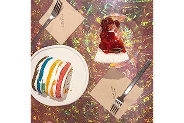 レインボーケーキの元祖、カロスキルにあるDOREDORE