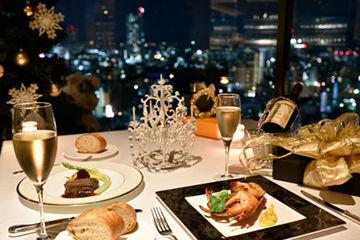 クリスマスはヤケの見えるレストランでリア充自慢