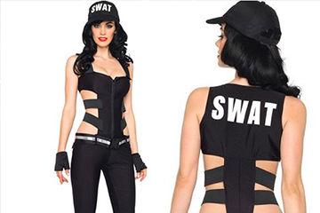 ハロウィン人気コスプレ、SWAT