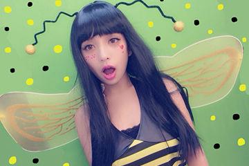 ミツバチコスプレが人気のハロウィンコスプレ