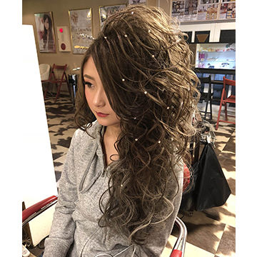 片寄せ盛り髪1