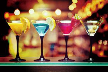 お酒を飲みに行ったときに比べてします