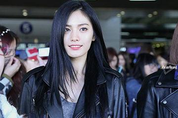 世界の美女№1に選ばれるアフタースクールのナナ、黒髪美人。