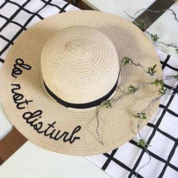 夏にピッタリの帽子