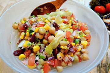 野菜と大豆中心のタンパク質ダイエット