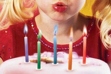 誕生日サプライズ