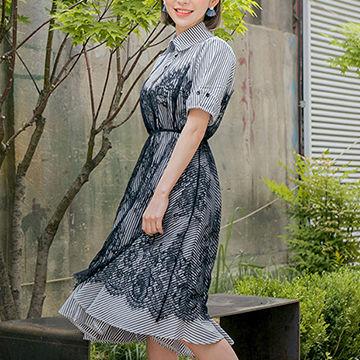 AKB48の指原莉乃も着用のシャツとレースワンピ