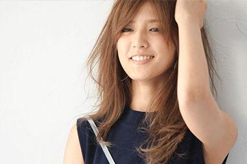 藤井萩花のヘアカラーが可愛い