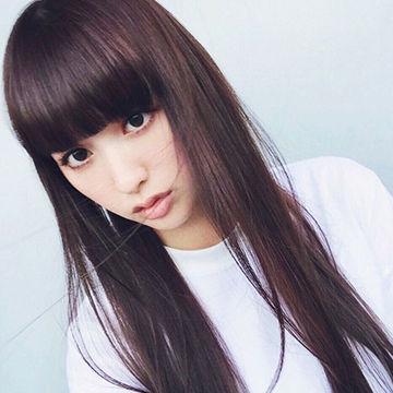 鈴木えみのショコラピンクヘアがMODEでかわいい。