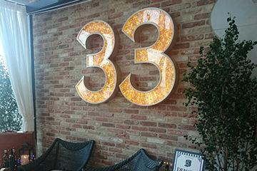 the33のお店が可愛すぎてインスタ映え間違い無し