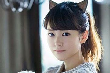 猫系女子の桐谷美玲ちゃん