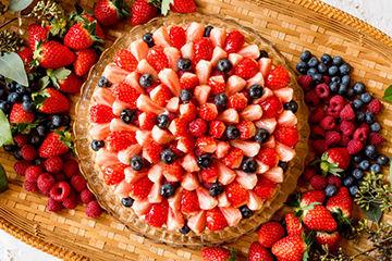 フルーツたっぷりの見た目も可愛いし、味も美味しいキルフェボン