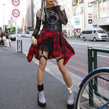メンズウケが悪い、女性のファッションバンギャ風
