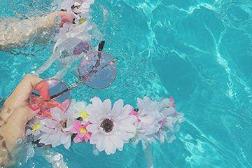 夏のイベント海やプール