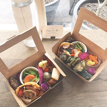 オーガニック弁当もしている大阪南船場のオーガニック食堂