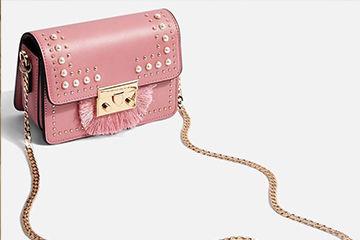 パールが可愛いバッグ
