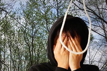自殺宣言男