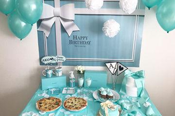 Tiffanyのテーブルコーディネートがとってもかわいい